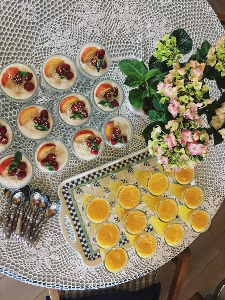 Food in Lithuania, yoga retreat - Curated by Sisters