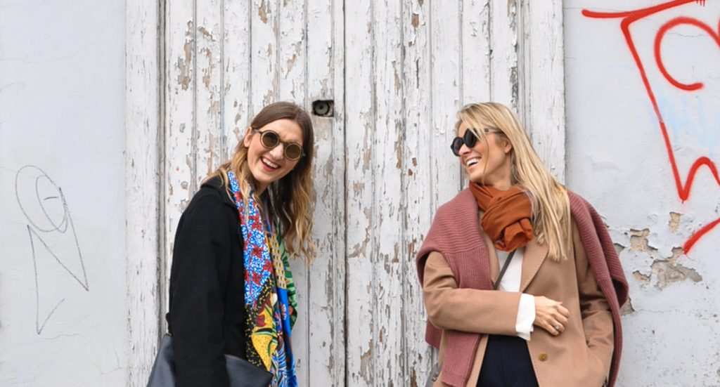 Yoga and pilates teachers Lina and Aiste - Curated by Sisters