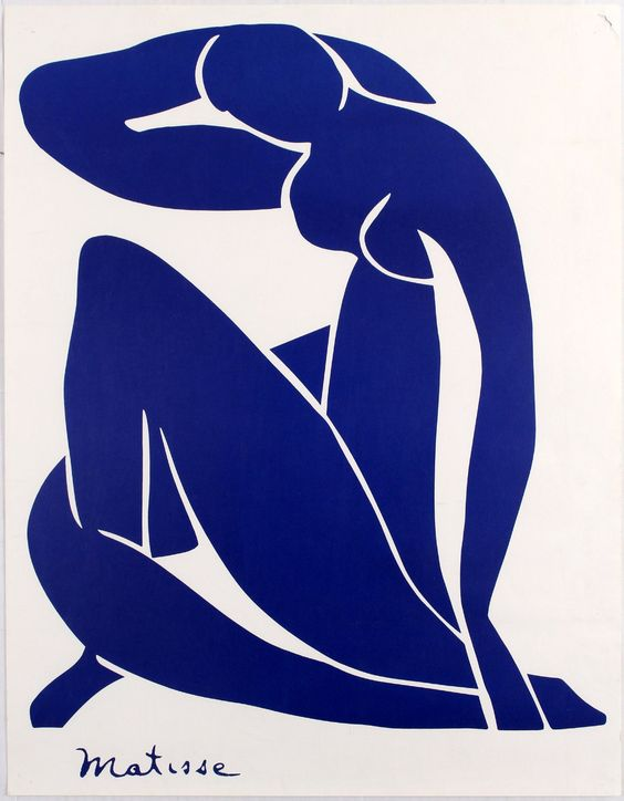 Matisse art collage cut outs
