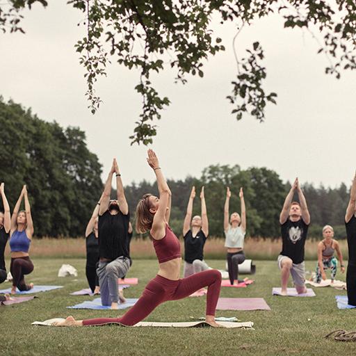 Jivamukti yoga event